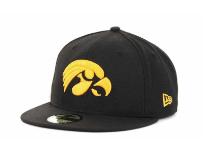 Iowa Hawkeyes New Era NCAA AC Stock 59FIFTY Cap