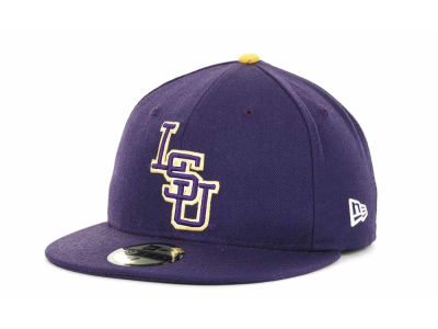 LSU Tigers New Era NCAA AC Stock 59FIFTY Cap