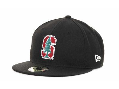 Stanford Cardinal New Era NCAA AC Stock 59FIFTY Cap