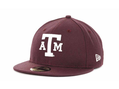 Texas A&M Aggies New Era NCAA AC Stock 59FIFTY Cap