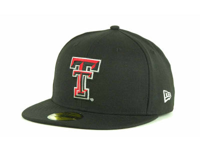 Texas Tech Red Raiders New Era NCAA AC Stock 59FIFTY Cap