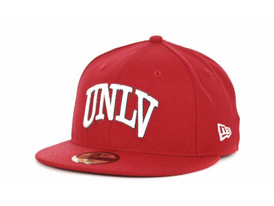 UNLV Runnin Rebels New Era NCAA AC Stock 59FIFTY Cap