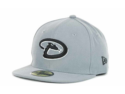Arizona Diamondbacks New Era MLB Youth Gray Black and White 59FIFTY