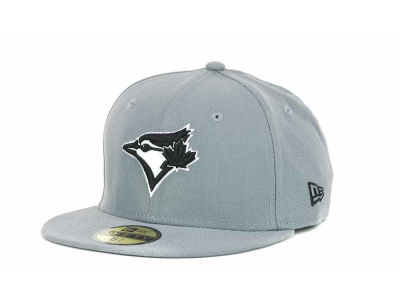 Toronto Blue Jays New Era MLB Youth Gray Black and White 59FIFTY