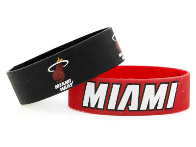 Miami Heat 2-pack Wide Bracelet