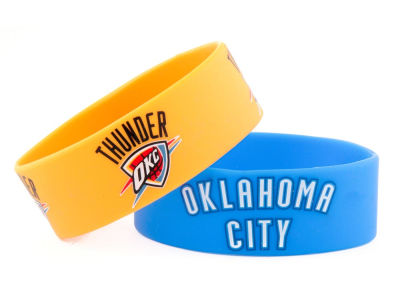 Oklahoma City Thunder 2-pack Wide Bracelet