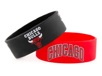Chicago Bulls 2-pack Wide Bracelet