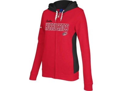 Carolina Hurricanes Reebok NHL Womens Core Full Zip Hoodie