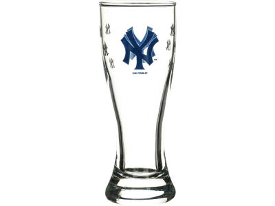 New York Yankees Satin Etch Mini Pilsner