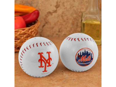 New York Mets Baseball Salt & Pepper Shakers