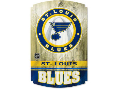 St. Louis Blues 11x17 Wood Sign