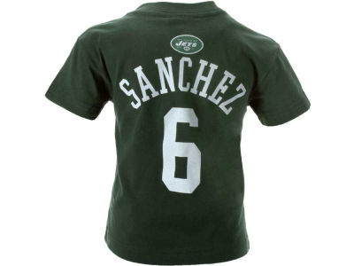New York Jets Mark Sanchez NFL Kids Primary Gear Flat T Shirt