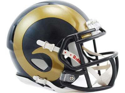 Los Angeles Rams Speed Mini Helmet