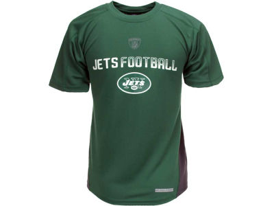 New York Jets NFL Youth Color Blocked Top