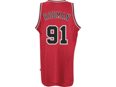 Chicago Bulls Dennis Rodman adidas NBA Men's Retired Player Swingman Jersey