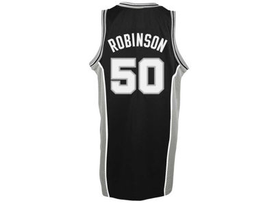 San Antonio Spurs David Robinson adidas NBA Men's Retired Player Swingman Jersey