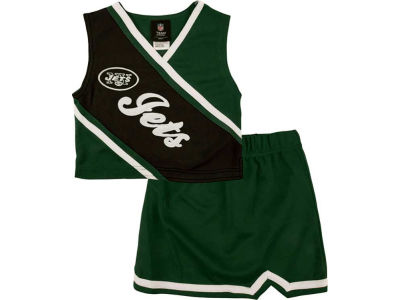 New York Jets NFL Toddler 2 Piece Cheerleader Set