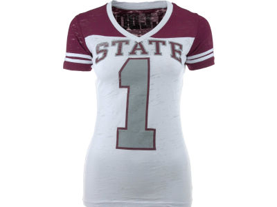 Mississippi State Bulldogs NCAA Womens Valerie Jersey T-Shirt