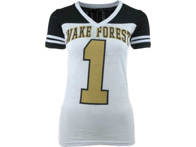 Wake Forest Demon Deacons NCAA Womens Valerie Jersey T-Shirt