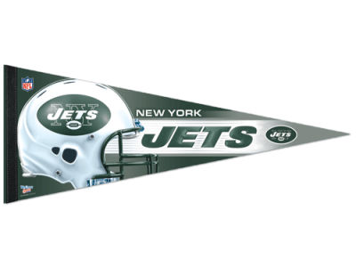 New York Jets 12x30 Premium Quality Pennant