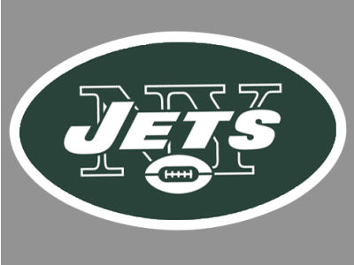 New York Jets Die Cut Color Decal 8in X 8in