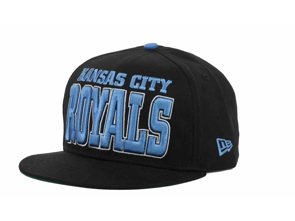 69c1c7d7 Kansas City Royals New Era MLB Solid 9FIFTY Snapback Cap