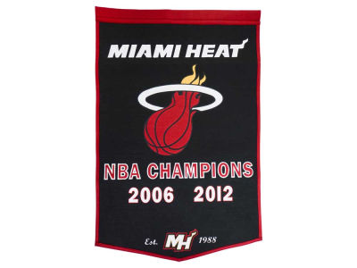 Miami Heat Winning Streak Dynasty Banner