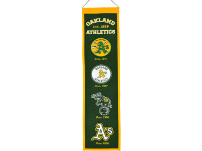 Oakland Athletics Winning Streak Heritage Banner