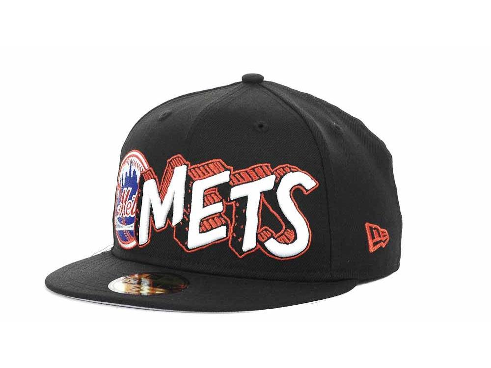 New York Mets New Era MLB The Ice 59FIFTY Cap  86474058d6cd