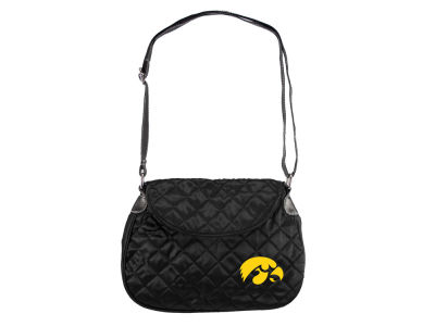 Iowa Hawkeyes Quilted Saddlebag
