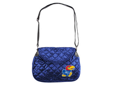 Kansas Jayhawks Quilted Saddlebag