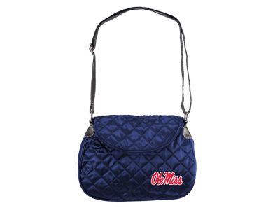 Ole Miss Rebels Quilted Saddlebag