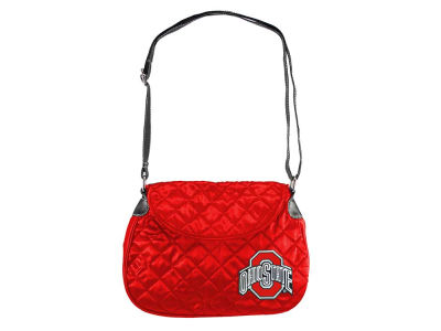 Ohio State Buckeyes Quilted Saddlebag