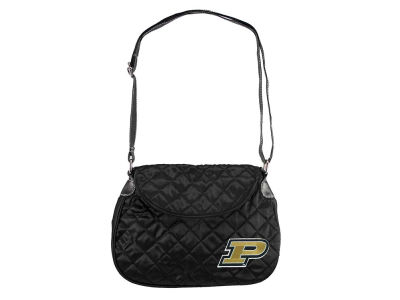 Purdue Boilermakers Quilted Saddlebag