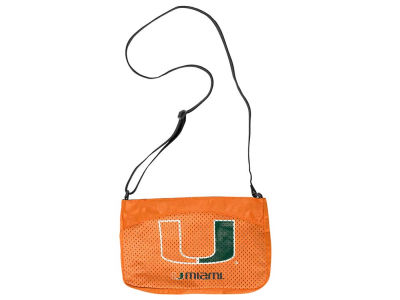 Miami Hurricanes Mini Jersey Purse