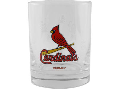 St. Louis Cardinals Satin Etch Rocks Glass