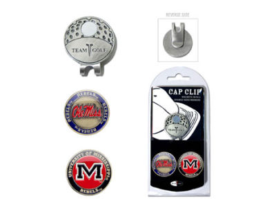 Ole Miss Rebels 2-pack Marker Cap Clip