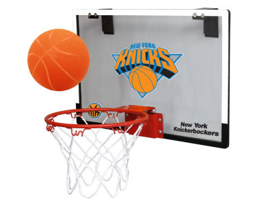New York Knicks Game On Polycarb Hoop Set
