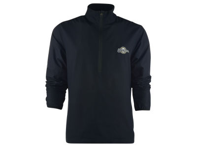 Milwaukee Brewers MLB Men's Weathertec Post Game Half Zip Jacket