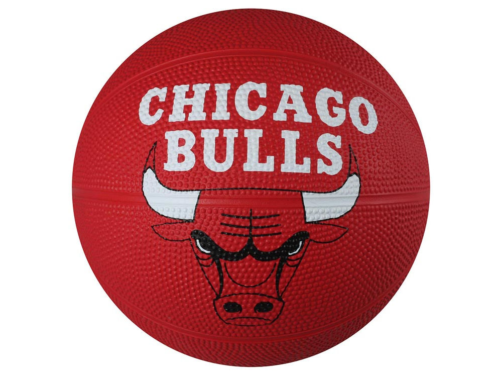 chicago bulls primary logo ball size 3 unboxed