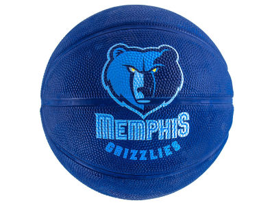 Memphis Grizzlies Primary Logo Ball Size 3 Unboxed