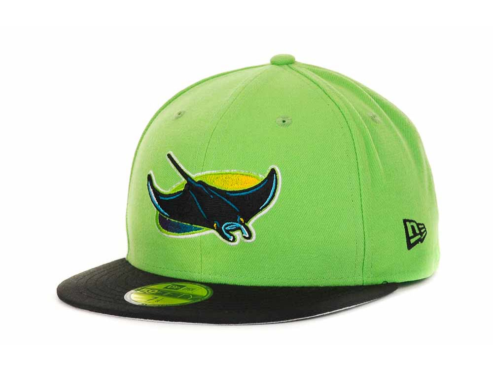 quality design 8ea7f aa0f4 Tampa Bay Rays New Era MLB Cooperstown 59FIFTY Cap   lids.com