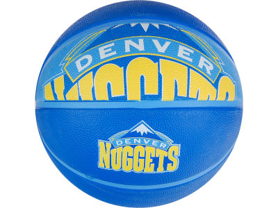 Denver Nuggets Courtside Ball Size 7 Boxed