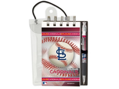 St. Louis Cardinals 3x5 Flip Spiral Notebook Pen Set