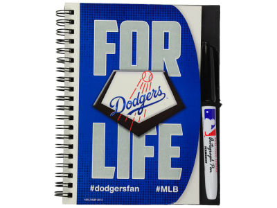 Los Angeles Dodgers 5x7 Spiral Notebook And Pen Set