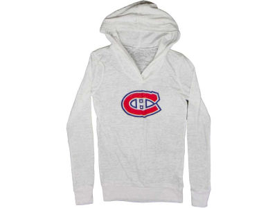 Montreal Canadiens NHL CN Womens Burnout Rhinestone Hoodie