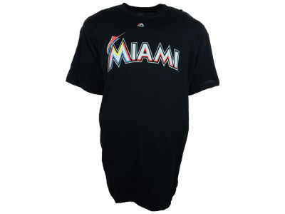 Miami Marlins MLB Men's Official Wordmark 3X-4X T-Shirt