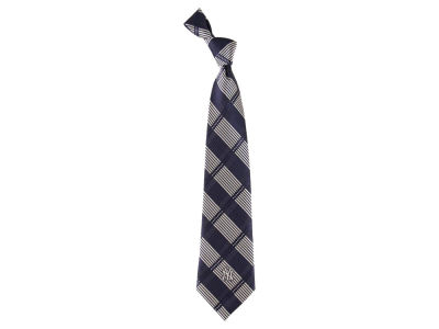 New York Yankees Necktie Woven Poly Plaid