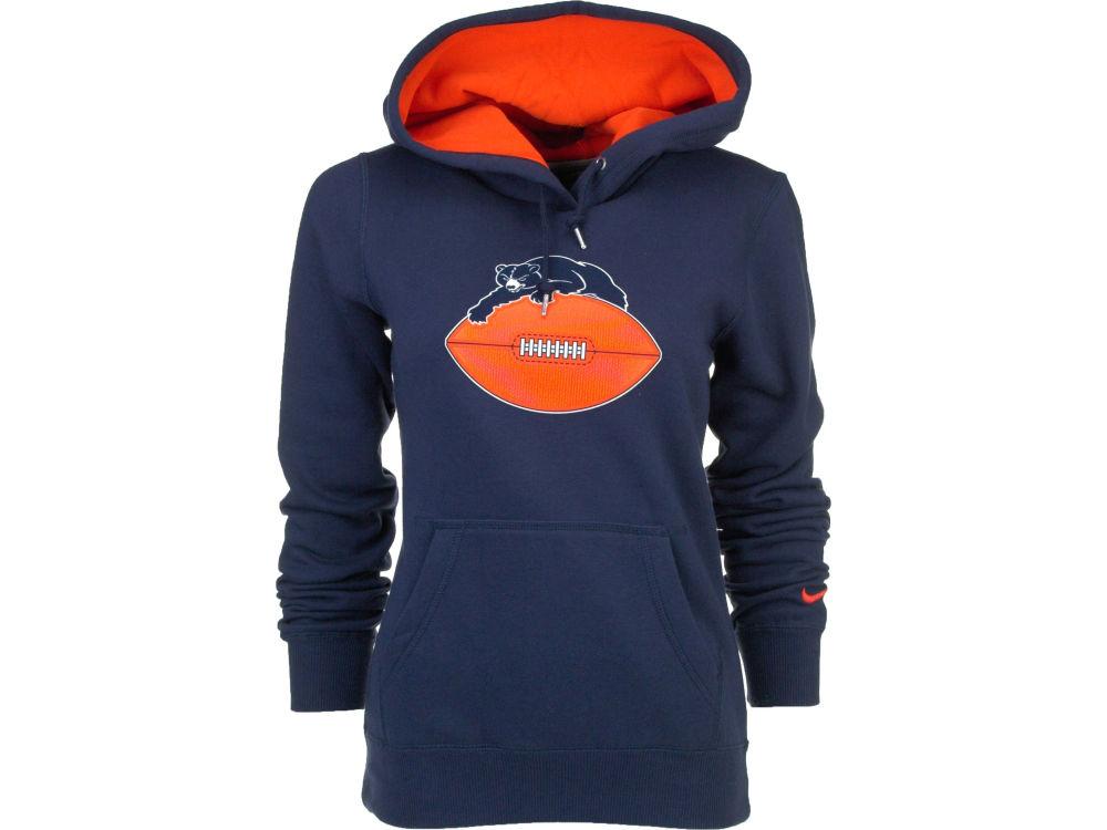 Chicago Bears Nike NFL Women s Retro Tailgater PO Hoodie  c3852ee5f8