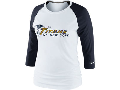 New York Titans Nike NFL Womens Retro 3rd N Long Raglan T-Shirt